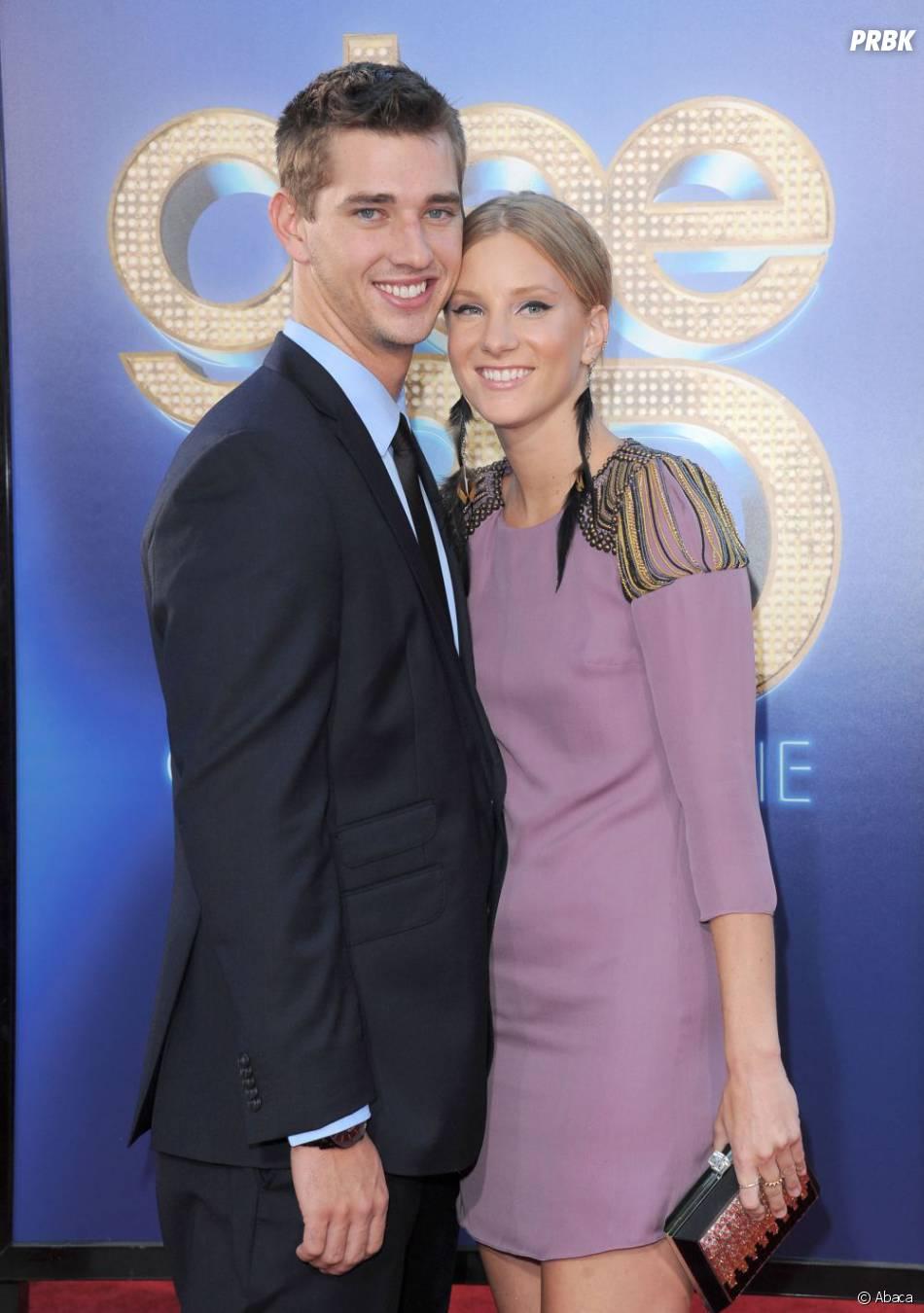 Heather Morris et son chéri vont accueillir un deuxième enfant
