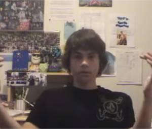 Dylan O'Brien a 16 ans dans une vidéo postée sur YouTube