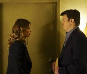 Castle saison 7 : Nathan Fillion et Stana Katic sur une photo