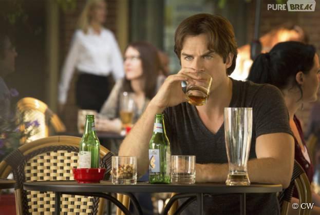 The Vampire Diaries saison 7, épisode 1 : Damon déprimé sur une photo