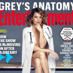 Ellen Pompeo (Grey's Anatomy) nue sous sa blouse pour une photo sexy