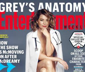 Ellen Pompeo (Grey's Anatomy) nue en couverture de Entertainment Weekly