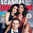 Tony Goldwyn, Kerry Washington et Bellamy Young en couverture de Entertainment Weekly