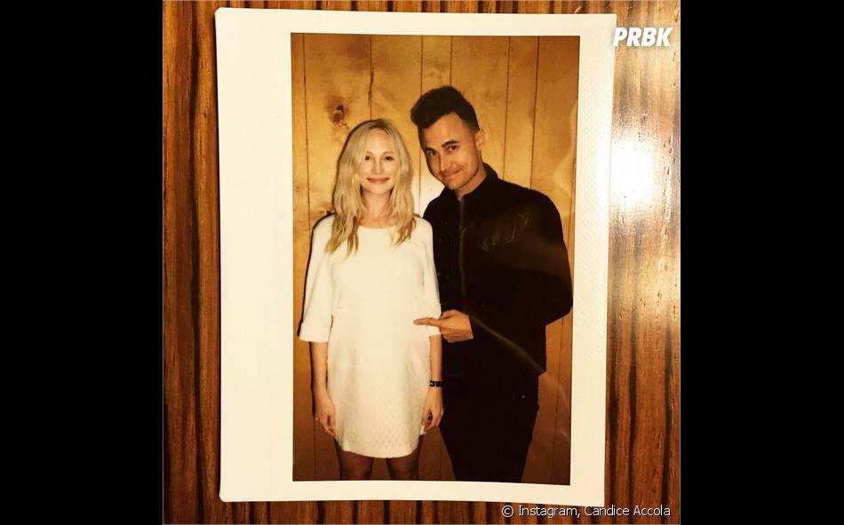 Candice Accola (The Vampire Diaries) enceinte : elle prend la pose avec son mari Joe King sur Instagram