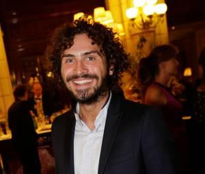 Maxime Musqua au gala Enfance & Cancer, le 9 septembre 2015 à Paris