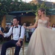 Ils ouvrent le bal de leur mariage avec un incroyable tour de magie