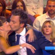 Bertrand Chameroy et Erika Moulet gênés pendant un concours de bisous dans TPMP
