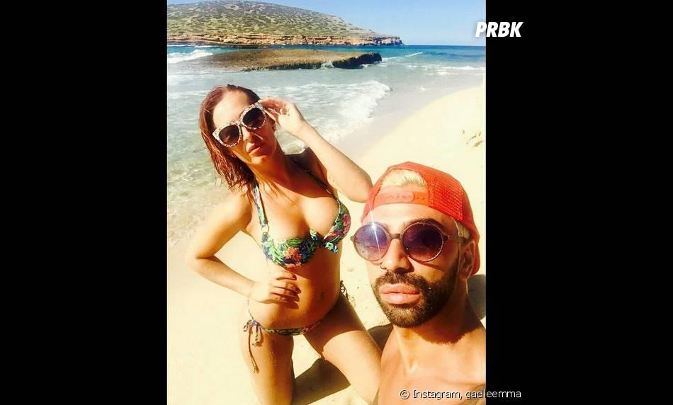 Gaëlle Petit (Les Ch'tis VS Les Marseillais) prend la pose en bikini sexy lors de ses vacances à Ibiza