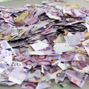 20 000 euros retrouvés déchirés dans une poubelle... Et personne ne sait pourquoi !