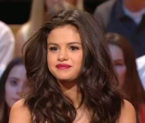 Selena Gomez dans Le Grand Journal, le 28 septembre 2015 sur Canal Plus