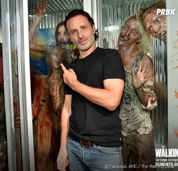 The Walking Dead saison 6 : Andrew Lincoln (Rick) contre les spoilers