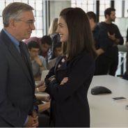 Anne Hathaway devient la boss de Robert de Niro dans Le nouveau stagiaire