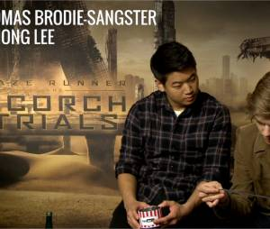 Thomas Brodie-Sangster et Ki Hong Lee du Labyrinthe 2 face aux questions cons de PureBreak