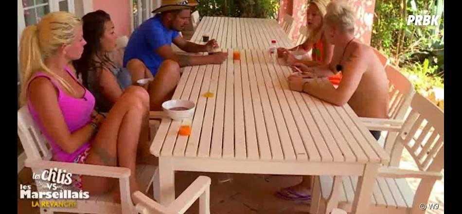 Les Ch'tis VS Les Marseillais : Tressia s'explique avec Jessica et Stéphanie lors de l'épisode 37 du 12 octobre 2015, sur W9