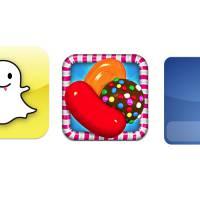 Snapchat, Facebook, Candy Crush... quelles sont les 20 applis les plus téléchargées en France ?