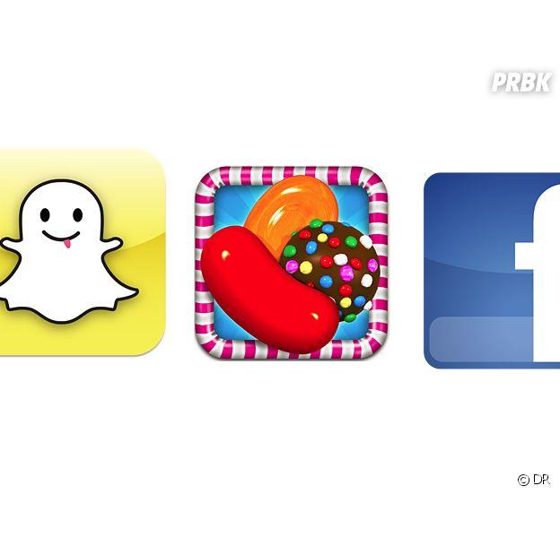 Snapchat, Candy Crush, Facebook... quelles sont les 20 applis les plus téléchargées en France ?