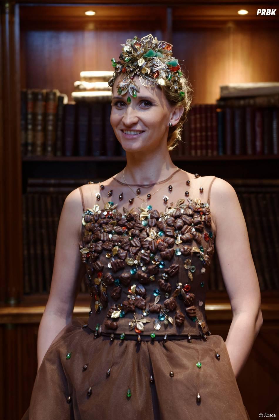 Tatiana Golovin sexy pour le Salon du chocolat 2015