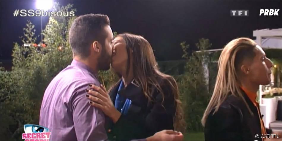 Secret Story 9 : bisou pour Loïc et Julie Ricci