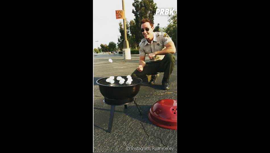 Teen Wolf saison 5 : Ryan Kelley (Parrish) et un barbecue