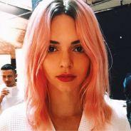 Kendall Jenner imite Loana : cheveux roses pour la star
