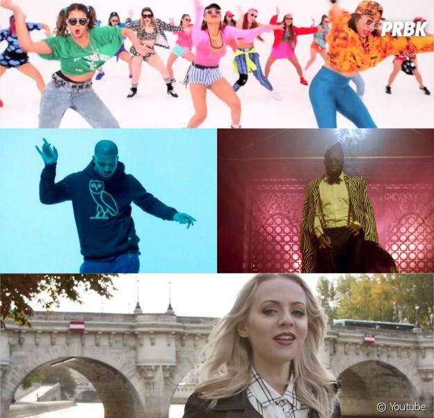 Drake, Justin Bieber, Madilyn Bailey, Louise Attaque, Maitre Gims et Niska dans les meilleurs clips de la semaine, octobre 2015