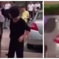 Trompée par son mari, elle se venge à coups de marteau sur sa voiture de luxe