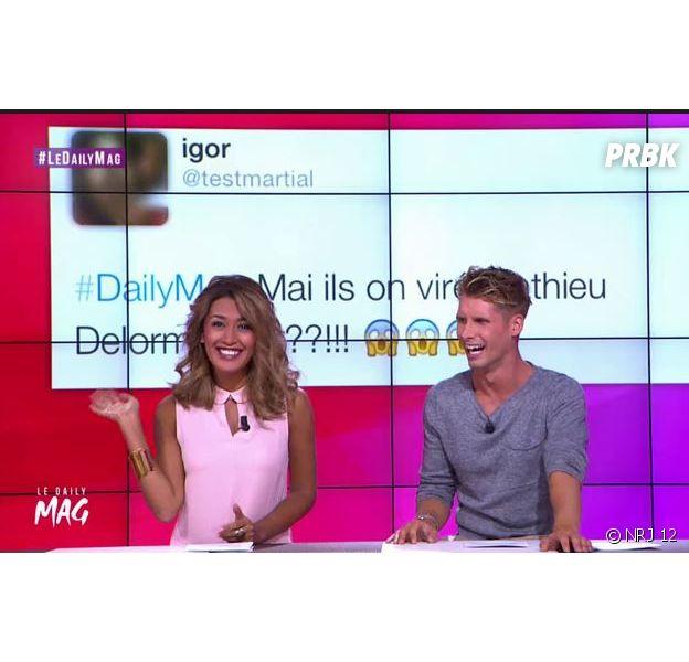 Le Daily Mag : l'émission animée par Benoît Dubois et Karima Charni déprogrammée par NRJ 12 ?