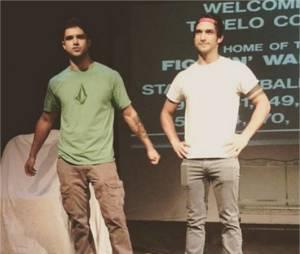 Tyler Posey (Teen Wolf) et son frère Jesse