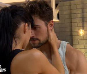 Olivier Dion (Danse avec les stars 6) un peu trop complice avec Candice Pascal en répétitions