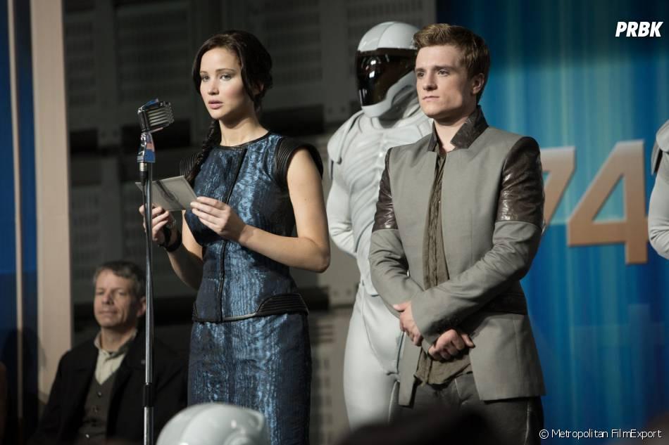 Hunger Games 2 : Jennifer Lawrence et Josh Hutcherson sur une photo