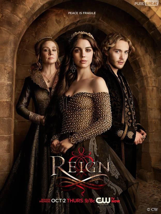 Reign saison 2 : un départ et trois nouveaux personnages