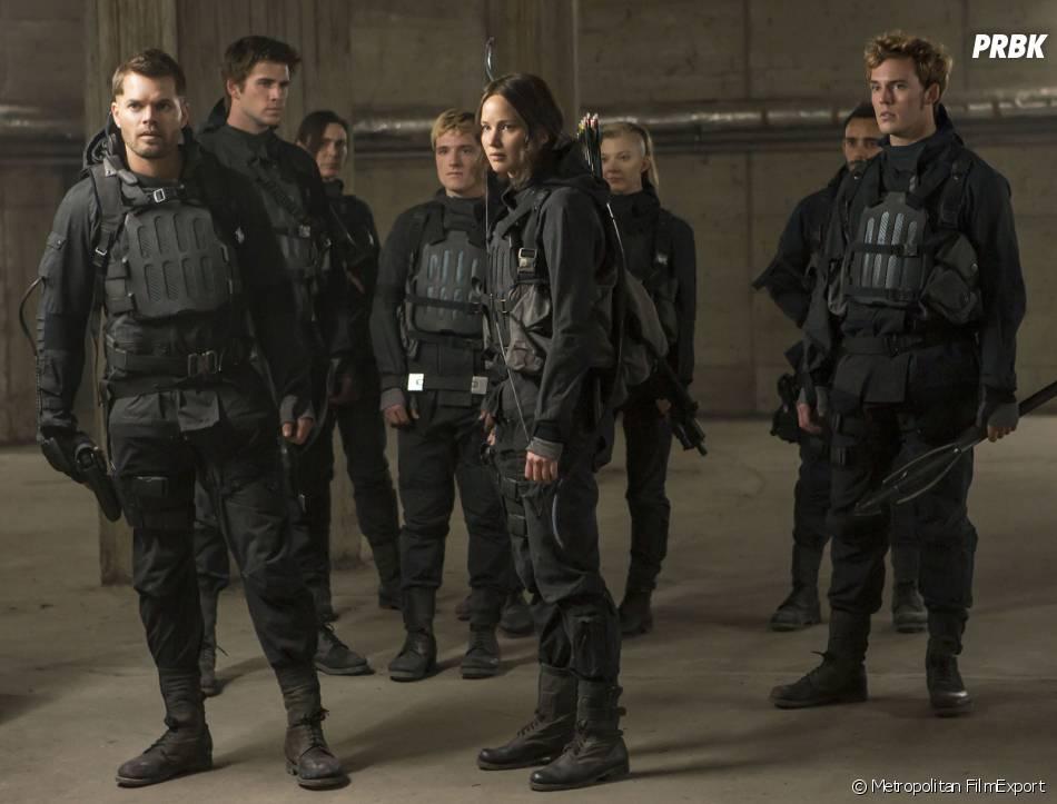 Hunger Games 4 : l'escouade 451 sur une photo