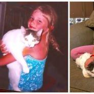 Trop mignon : elle retrouve son chat 14 ans après sa disparition !