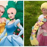 Des perruques de princesses Disney pour les petites filles malades du cancer : la belle idée du jour