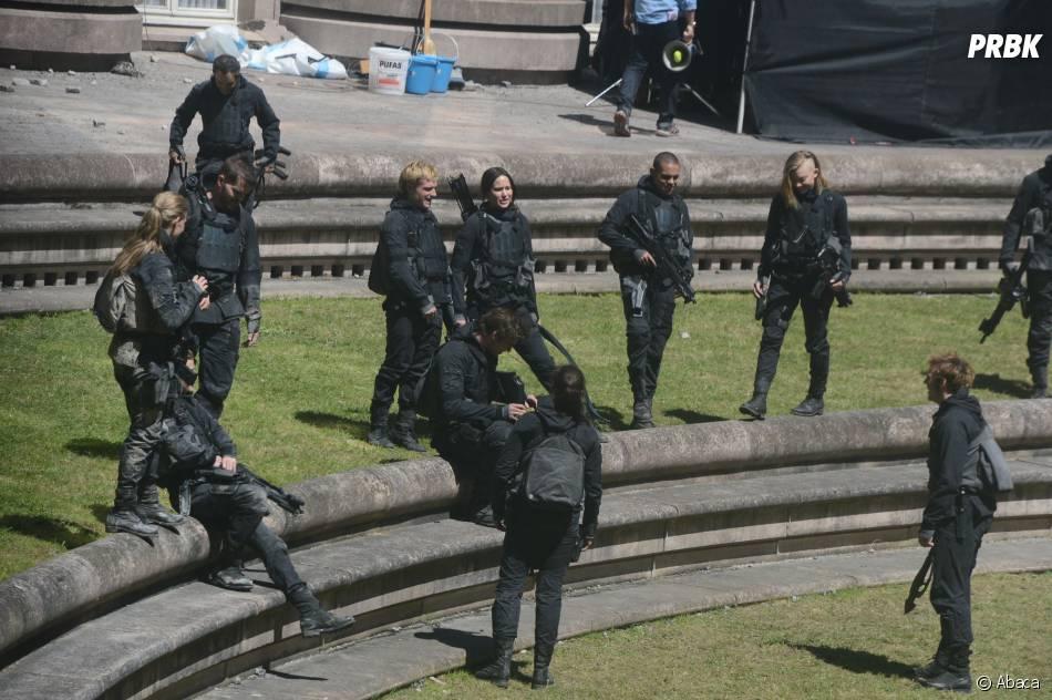 Hunger Games 4 en tournage à Noisy le Grand