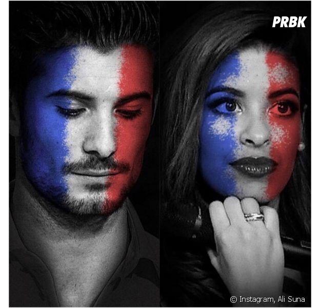 Ali et Alia (Secret Story 9) : hommage et appel à l'unité sur Instagram après les attentats de Paris