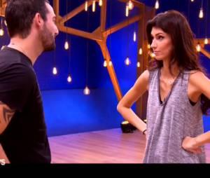 Sophie Vouzelaud et son petit ami Fabien en répétitions de Danse avec les stars 6