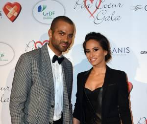 Tony Parker et sa femme Axelle