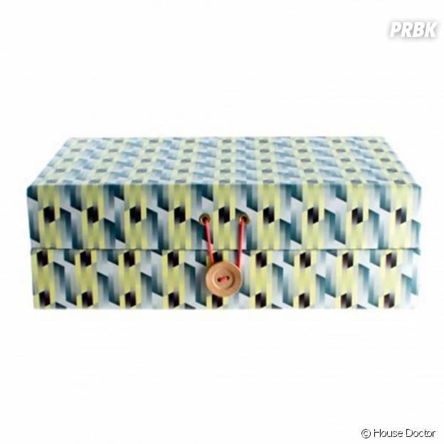 Boîte à bijoux géométrique House Doctor chez Fleux