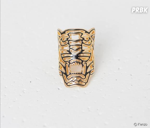 Bague maxi tigre Kenzo