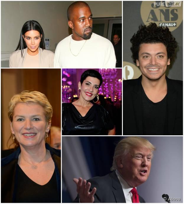 Kev Adams, Kim Kardashian et Kanye West, Cristina Cordula, Elise Lucet, Donald Trump : les nouvelles marionnettes des Guignols de l'info 2015