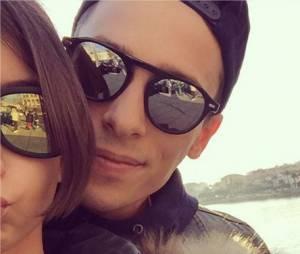 Grégoire Lyonnet : photo complice avec Annily le 6 décembre 2015 sur Instagram