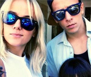 Alizée, Grégoire Lyonnet et Annily sur une photo postée sur Instagram