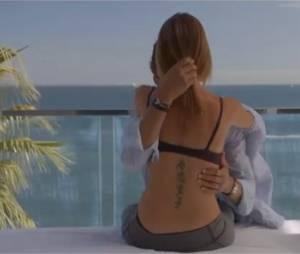 Jennifer Lauret nue dans Une famille formidable sur TF1