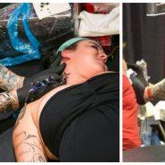 Insolite : né sans bras, ce tatoueur professionnel officie... avec ses pieds !
