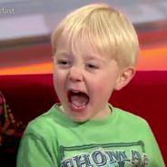 Hilarant : un petit garnement de 4 ans RUINE une émission en direct !