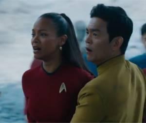 Star Trek Sans limites : Zoe Saldana et John Cho dans la bande-annonce