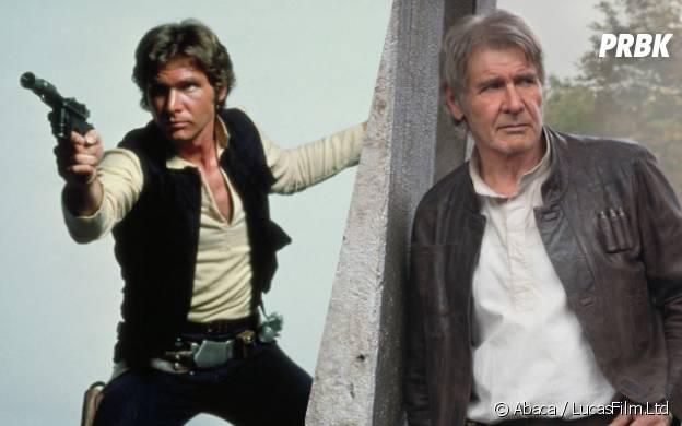 Harrison Ford (Han Solo) : l'avant/après du héros de Star Wars 7