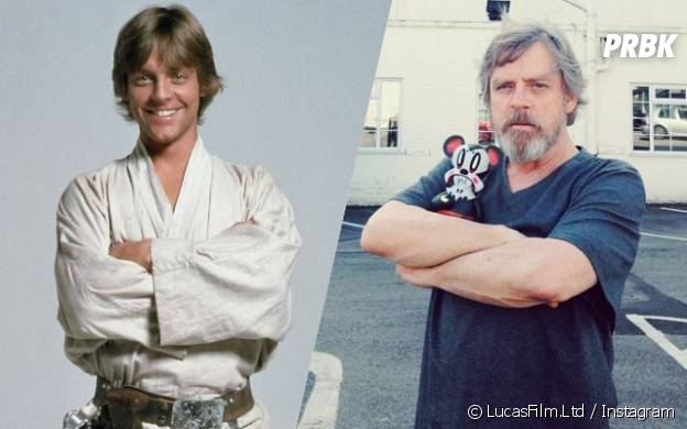 Mark Hamill (Luke Skywalker) : l'avant/après de l'acteur de Star Wars 7