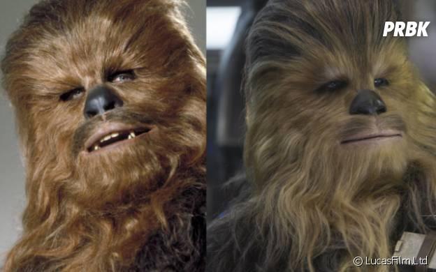 Chewbacca : l'avant/après du héros de Star Wars